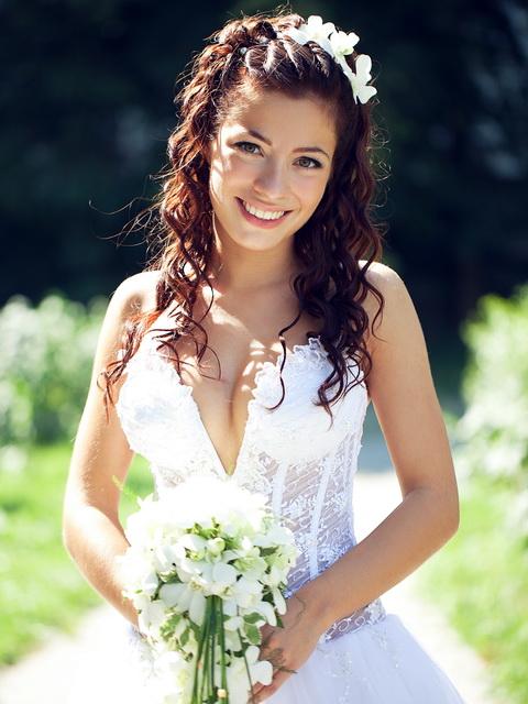 свадебные прически химки